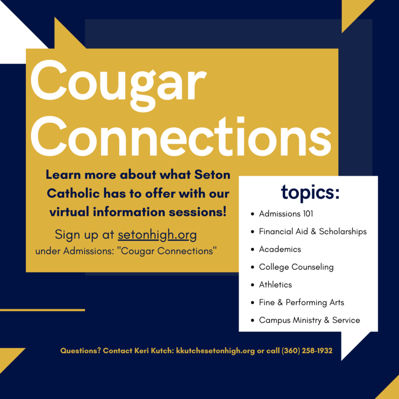 Cougar Connections: Virtual Info Sessions for Prospective Families Featured Photo