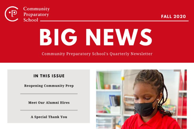Community Prep's Big News Featured Photo