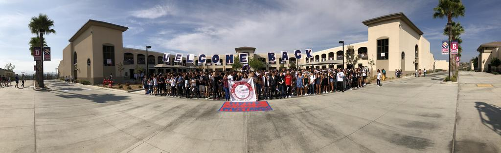 YLHS 10th Anniversary group photo panorama