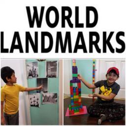 world landmarks zoom