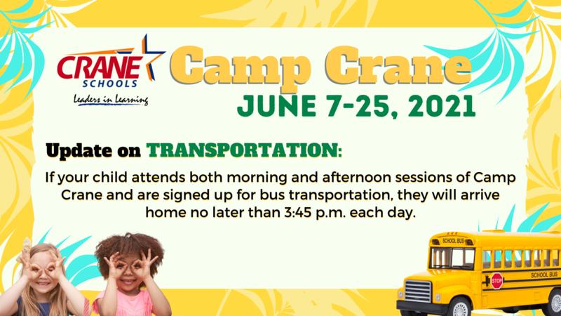 Camp Crane: Transportation Update Featured Photo