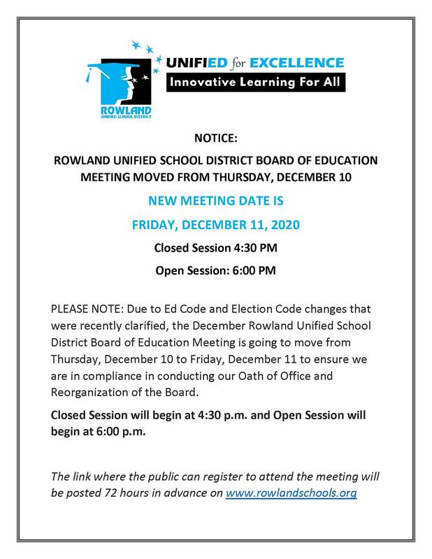 December 11 Board Meeting