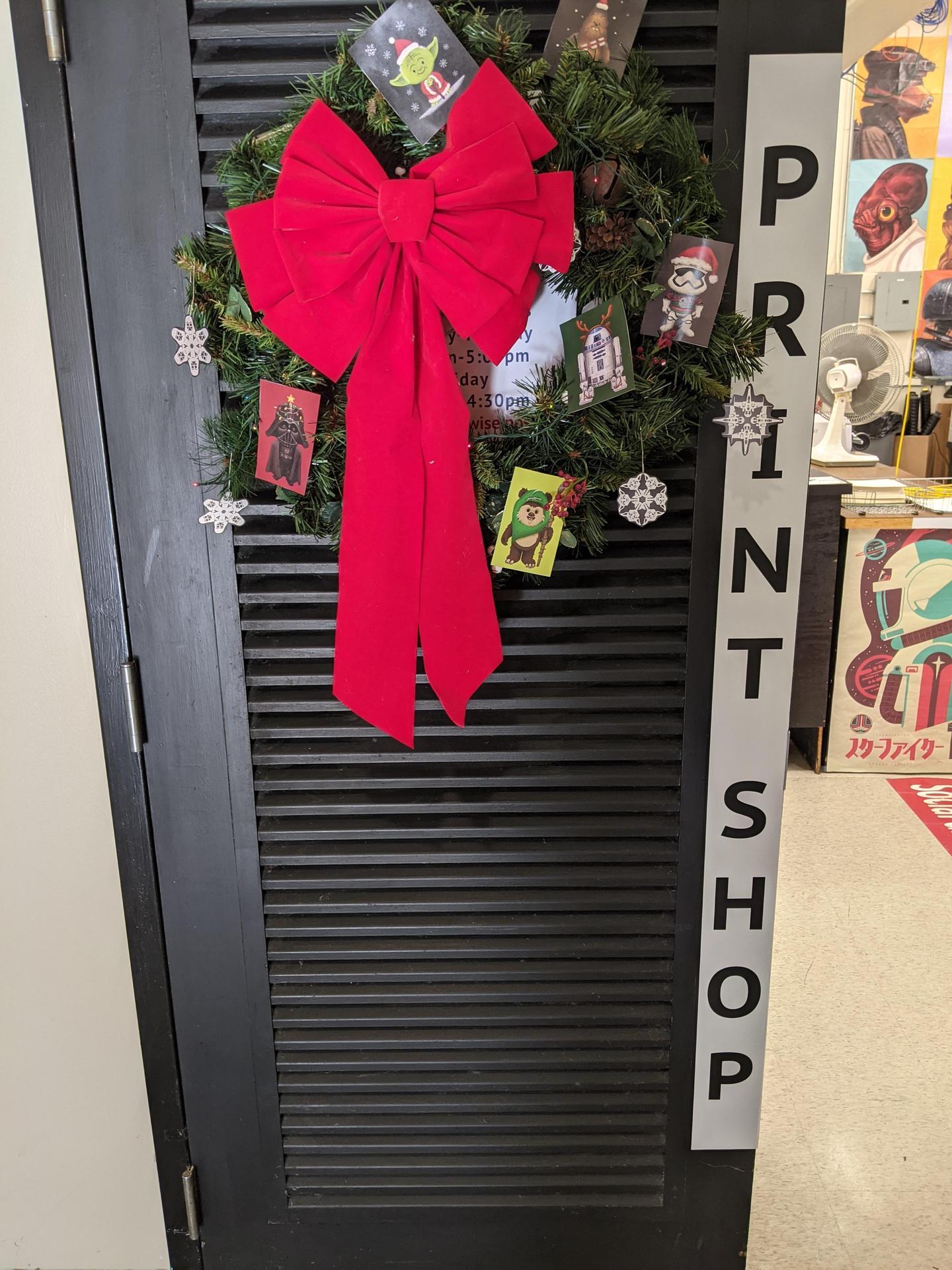 Print Shop Door
