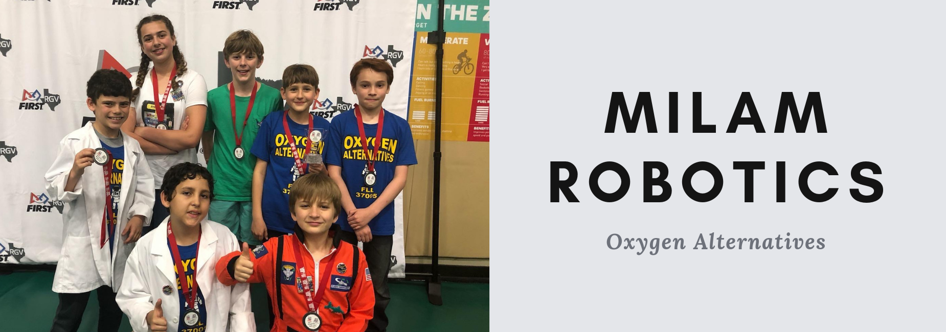 Milam Robotics team