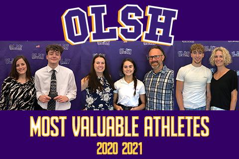 photo of OLSH Most Valuable Athletes 2020-2021
