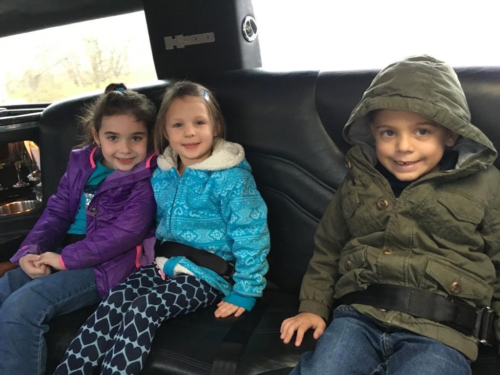 Fall Fundraiser Limo Ride Reward