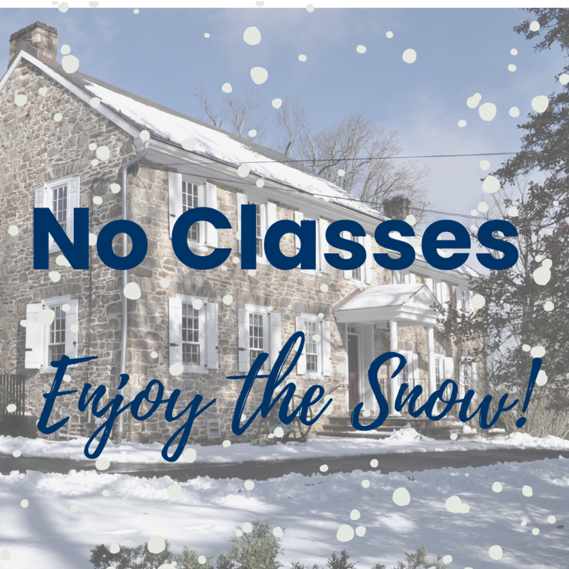 No Classes - Enjoy the Snow!