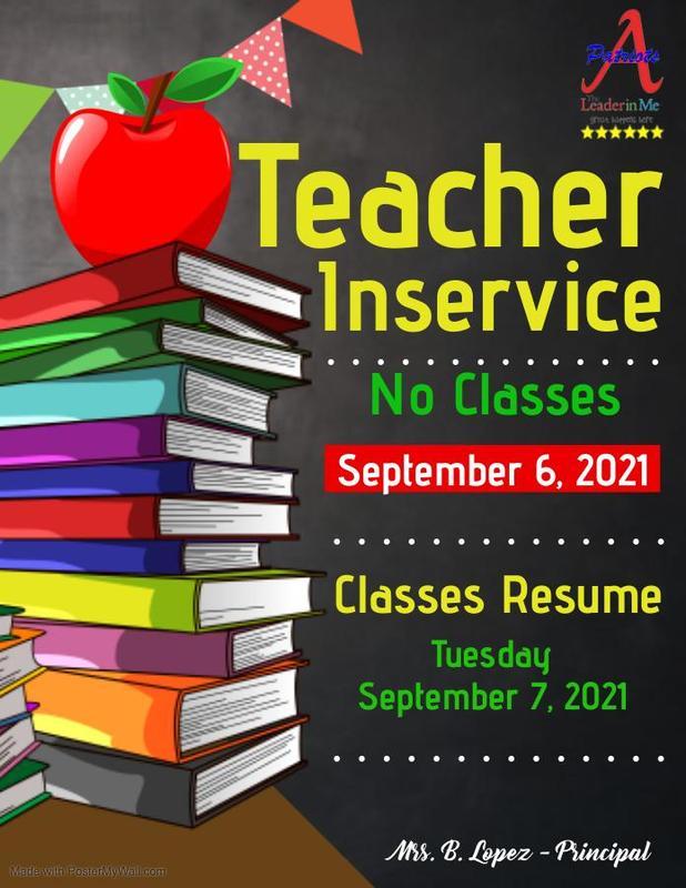 Teacher Inservice Featured Photo