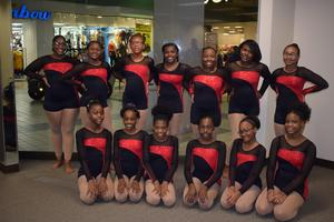 Denman Dancers performs at Edgewood Mall