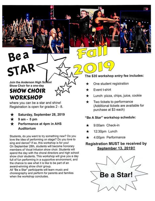 Show Choir Workshop! Thumbnail Image