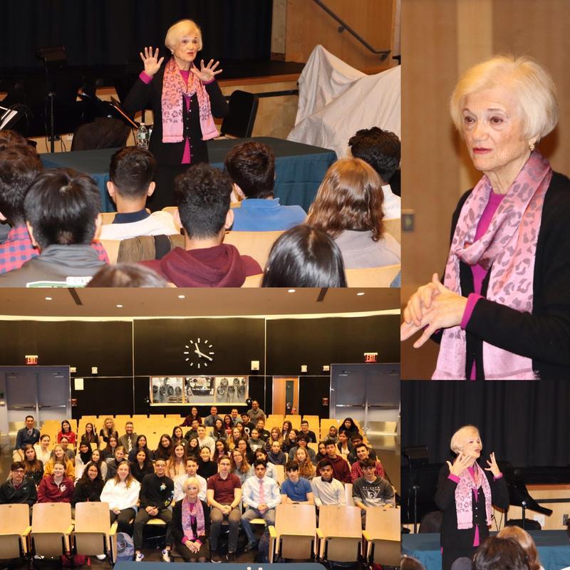 Maspeth High School Welcomes Holocaust Survivor Featured Photo