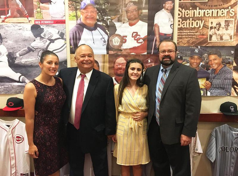 Mr. Santos Now A NYS Baseball Hall of Famer Featured Photo