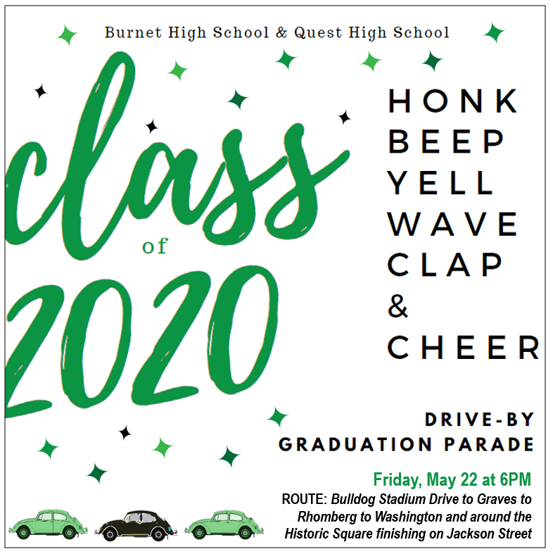 Drive-By Graduation Parade Thumbnail Image