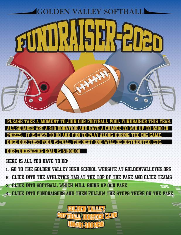 GV Softball Booster Club - Superbowl Fundraiser Featured Photo