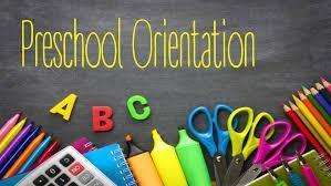 Preschool Orientation Image