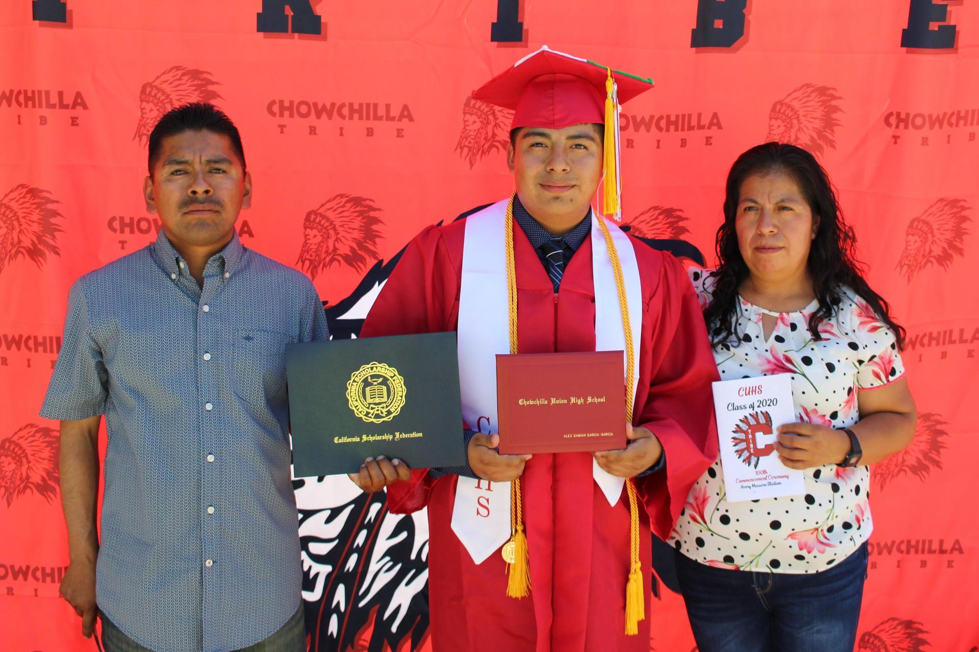 Alex Garcia and family