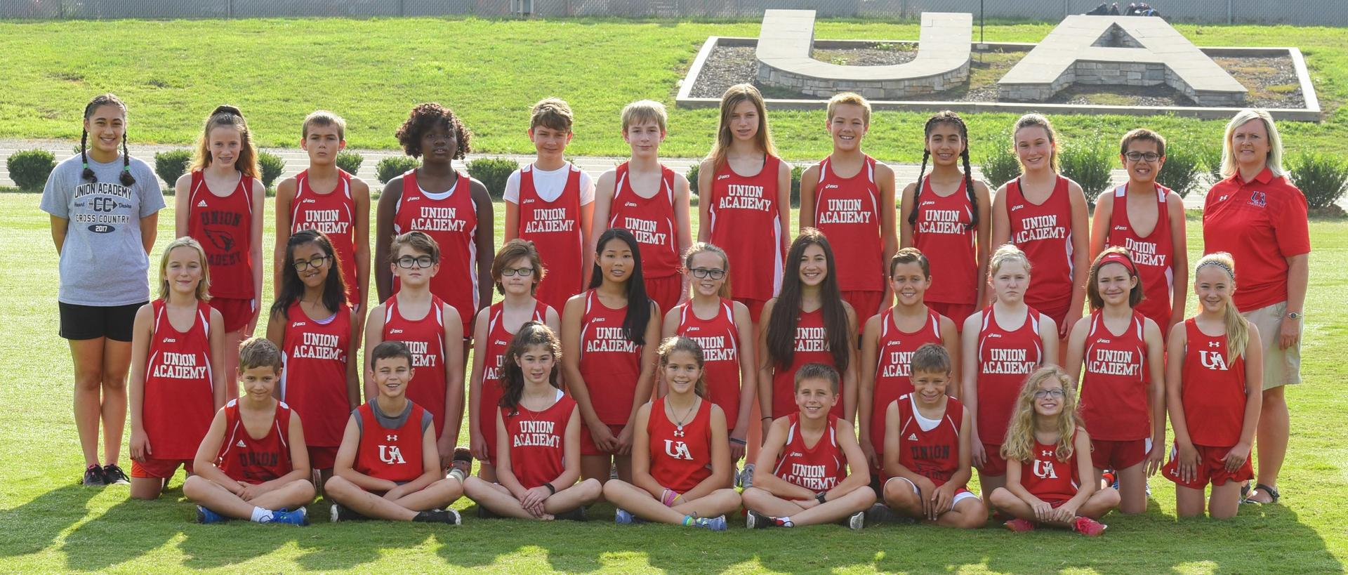 2018-19 MS Coed XC Team