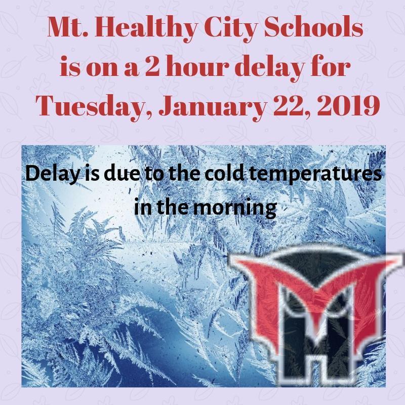 2 hour delay 1/22/19