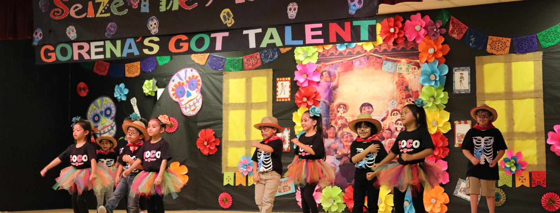 picture of kids at talent show