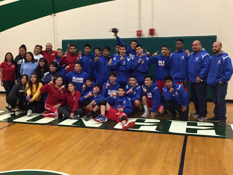 Eagle Wrestling Celebrates CIF Win! Featured Photo