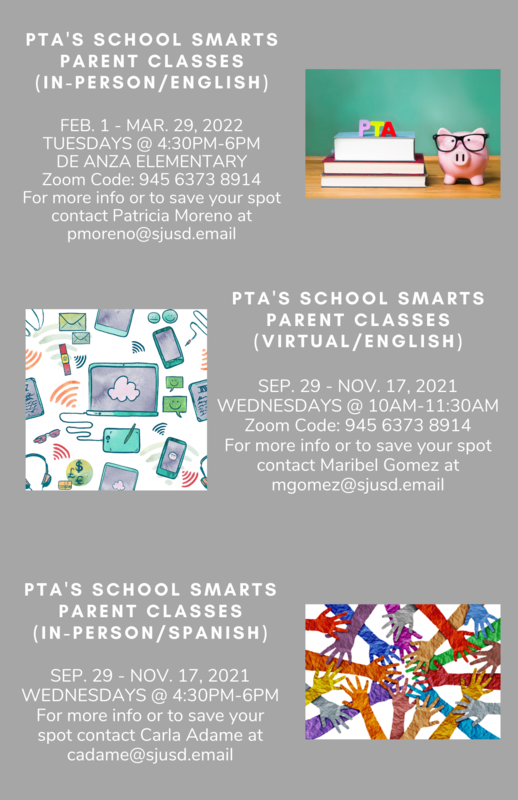 PTA School Smarts Parent Class