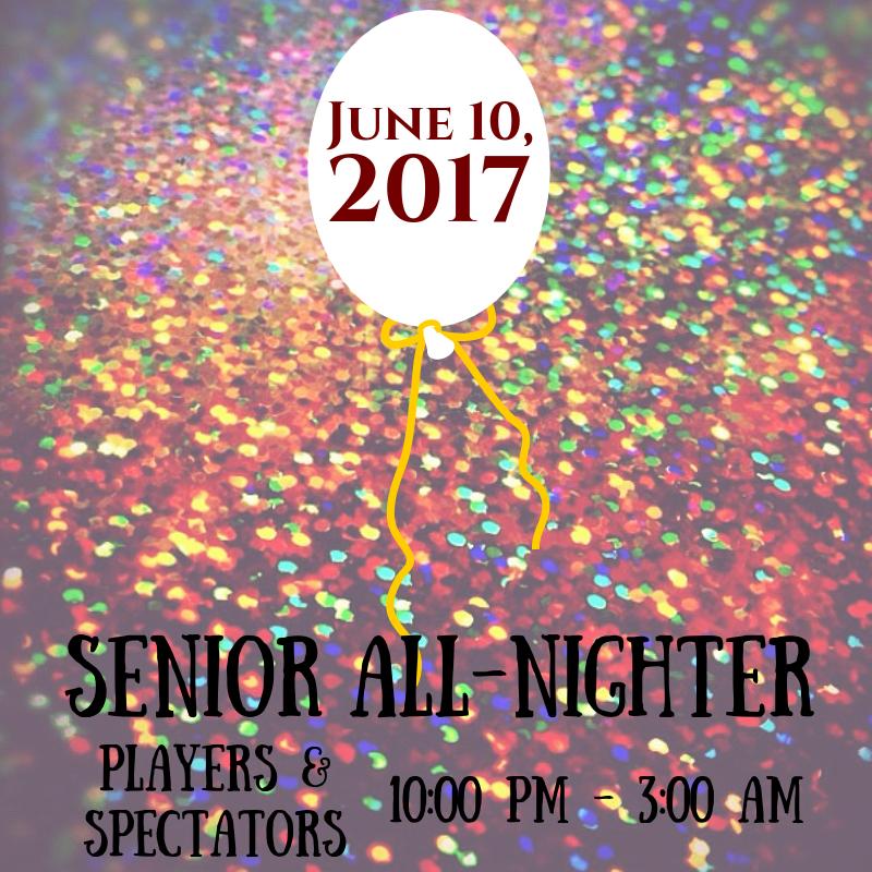 senior all nighter