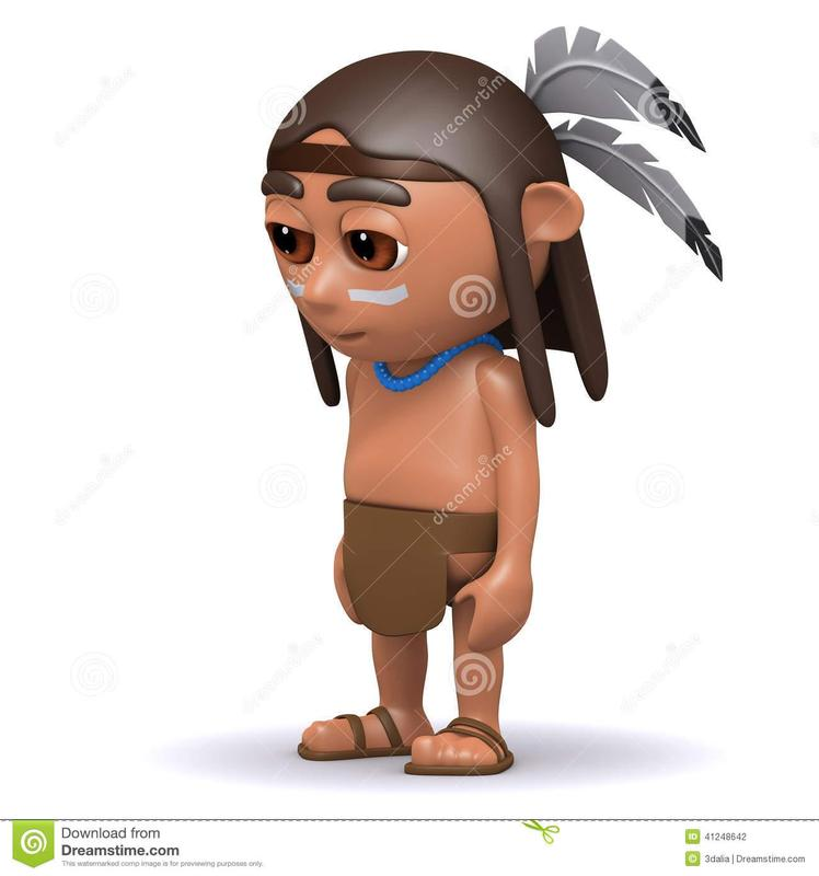 sad indian