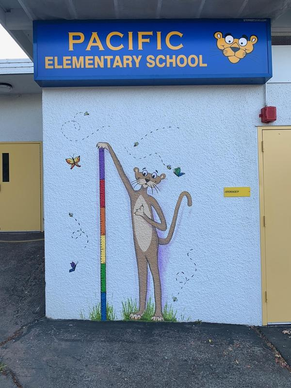 Thanks to the generous support of Pacific parents, the PTA is continuously finding ways to improve our campus. Thumbnail Image