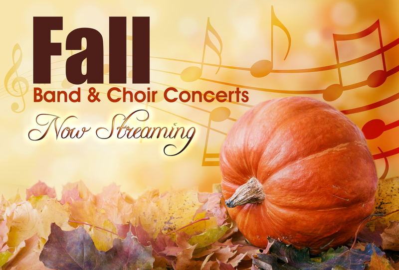 Fall Concerts Now Streaming! Featured Photo