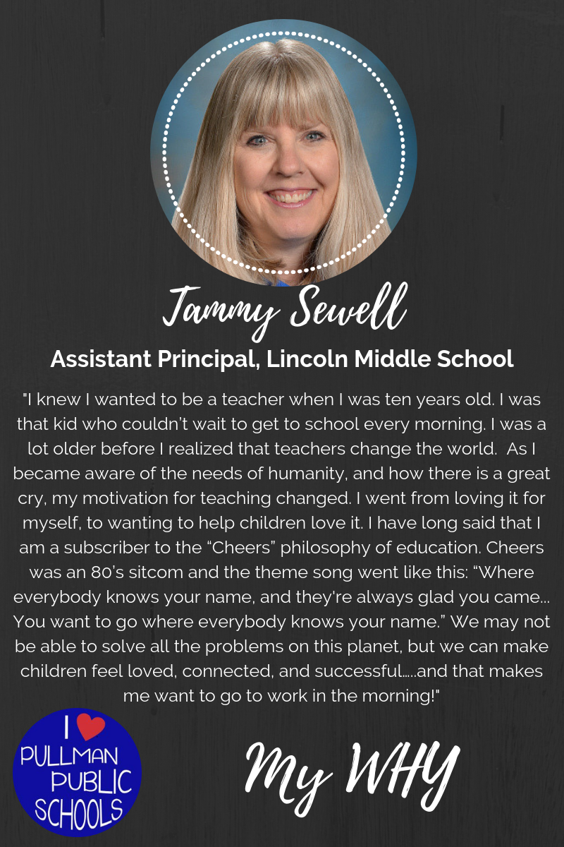 My WHY: Tammy Sewell Thumbnail Image