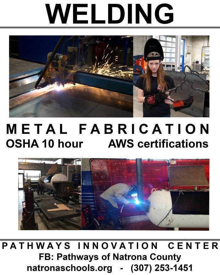 Pathway Innovation Center Welding Program Flyer
