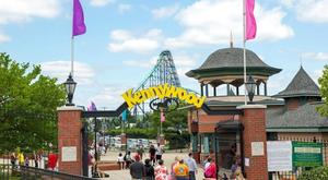 Kennywood - park entrance & Phantom's Revenge - Kurt Miller.jpg