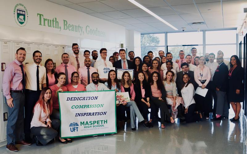Maspeth High School Raises Awareness During Breast Cancer Awareness Month Featured Photo