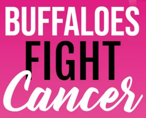 a photo that says Buffaloes Fight Cancer