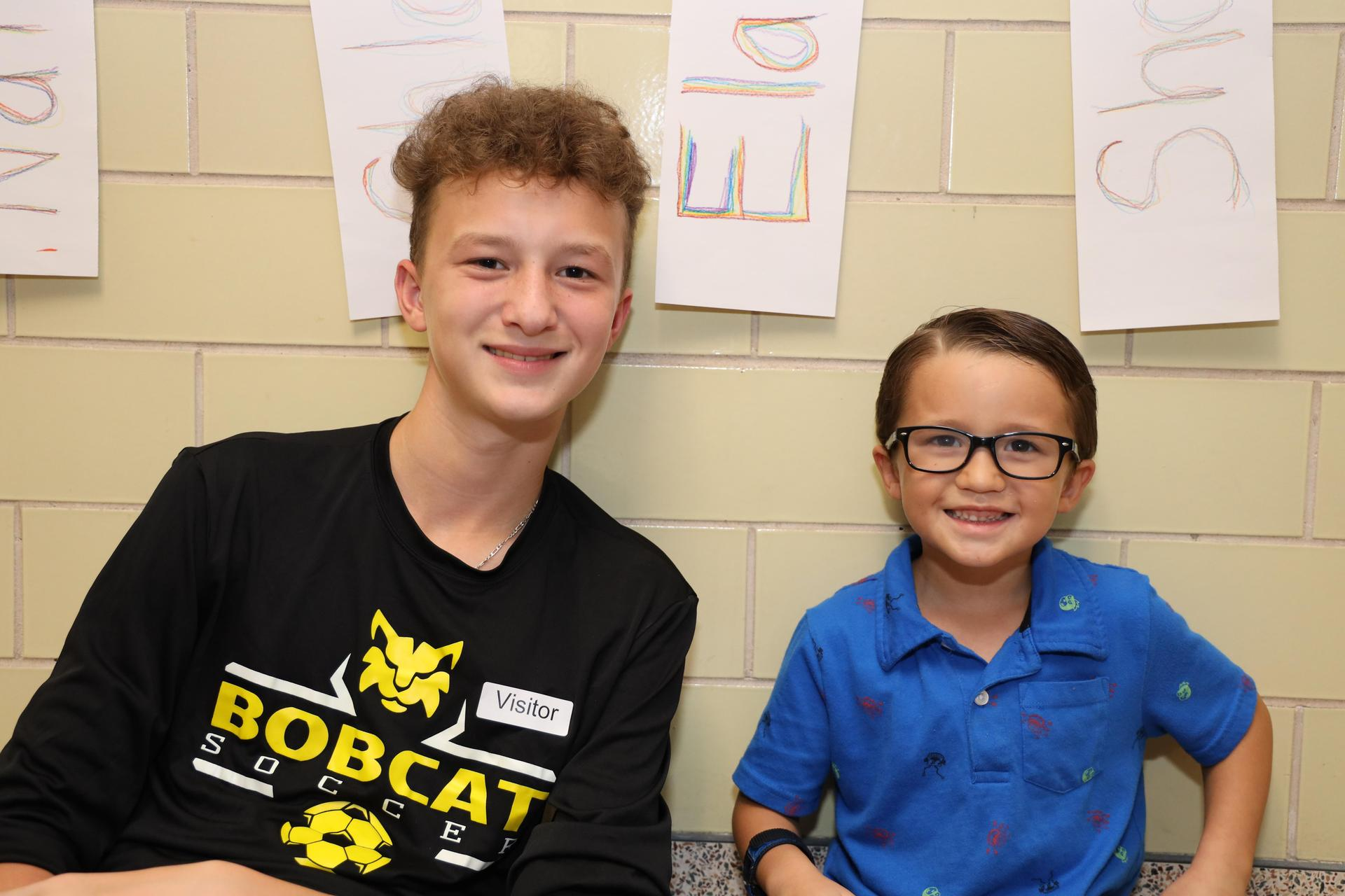 Bonnette students mentor Carpenter children