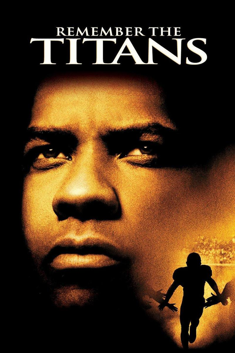 Movie cover from Remember the Titans