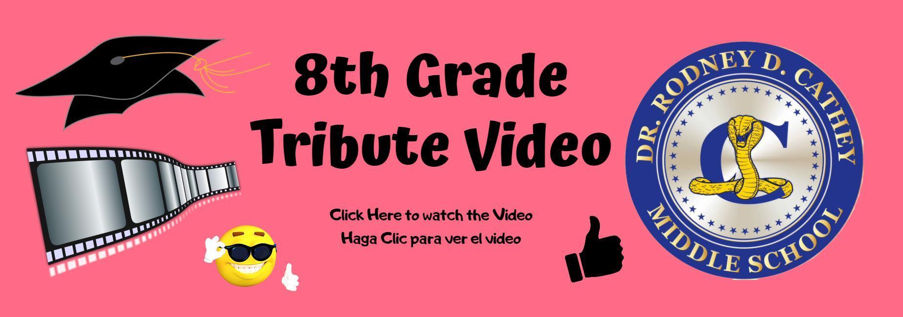 8th Grade Tribute Video Click Banner