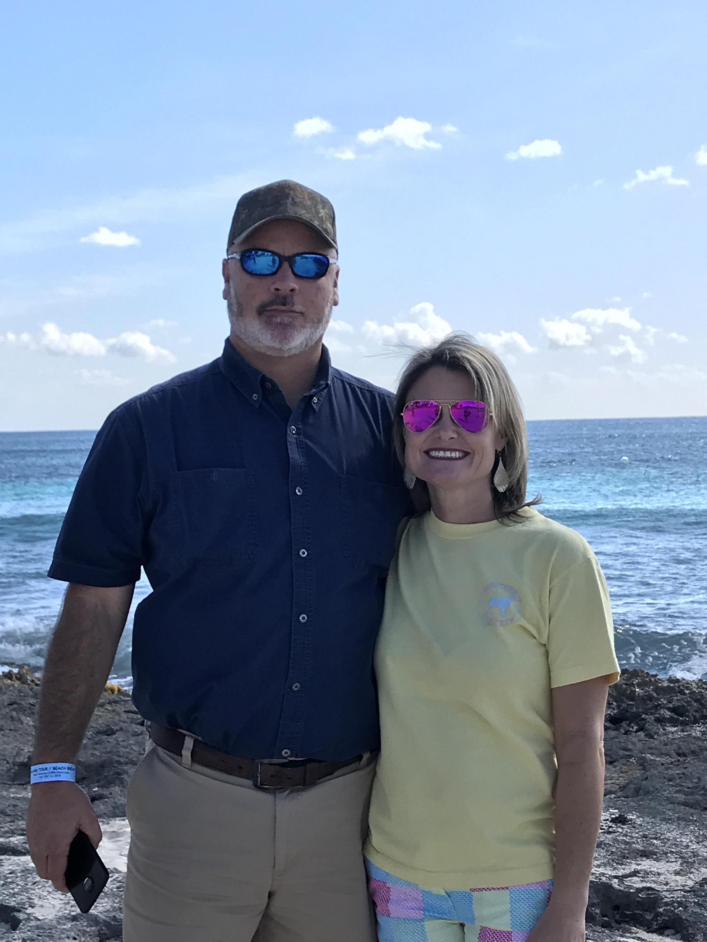 Joel and I in Cancun