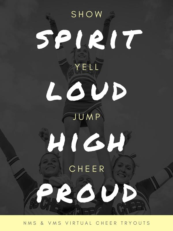 VMS NMS Virtual Cheer Tryouts