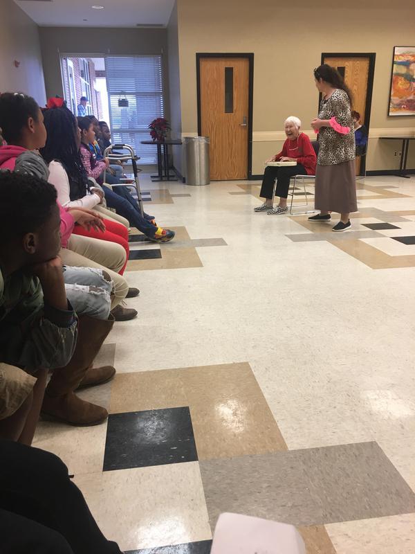 Otken Elementary Scholars tour the McComb Public Library