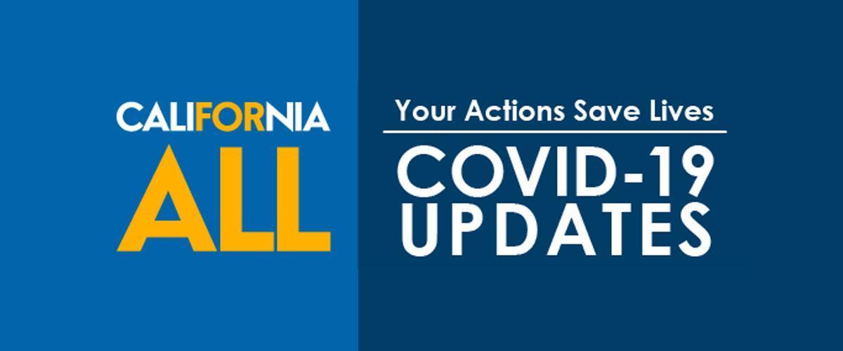 California For All COVID 19 Logo