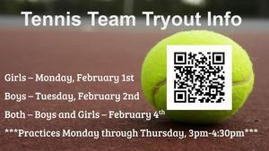Tennis Team News