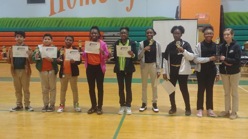 HRMS Students Participate in Math League Competition Featured Photo
