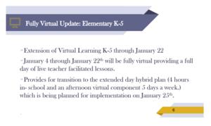 schedule slide
