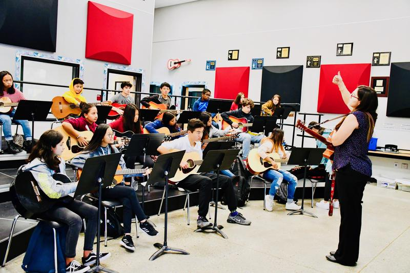 Chaparral Middle School tapped for PBS