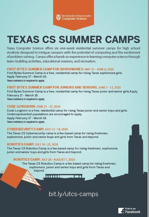 UT Computer Science Camps