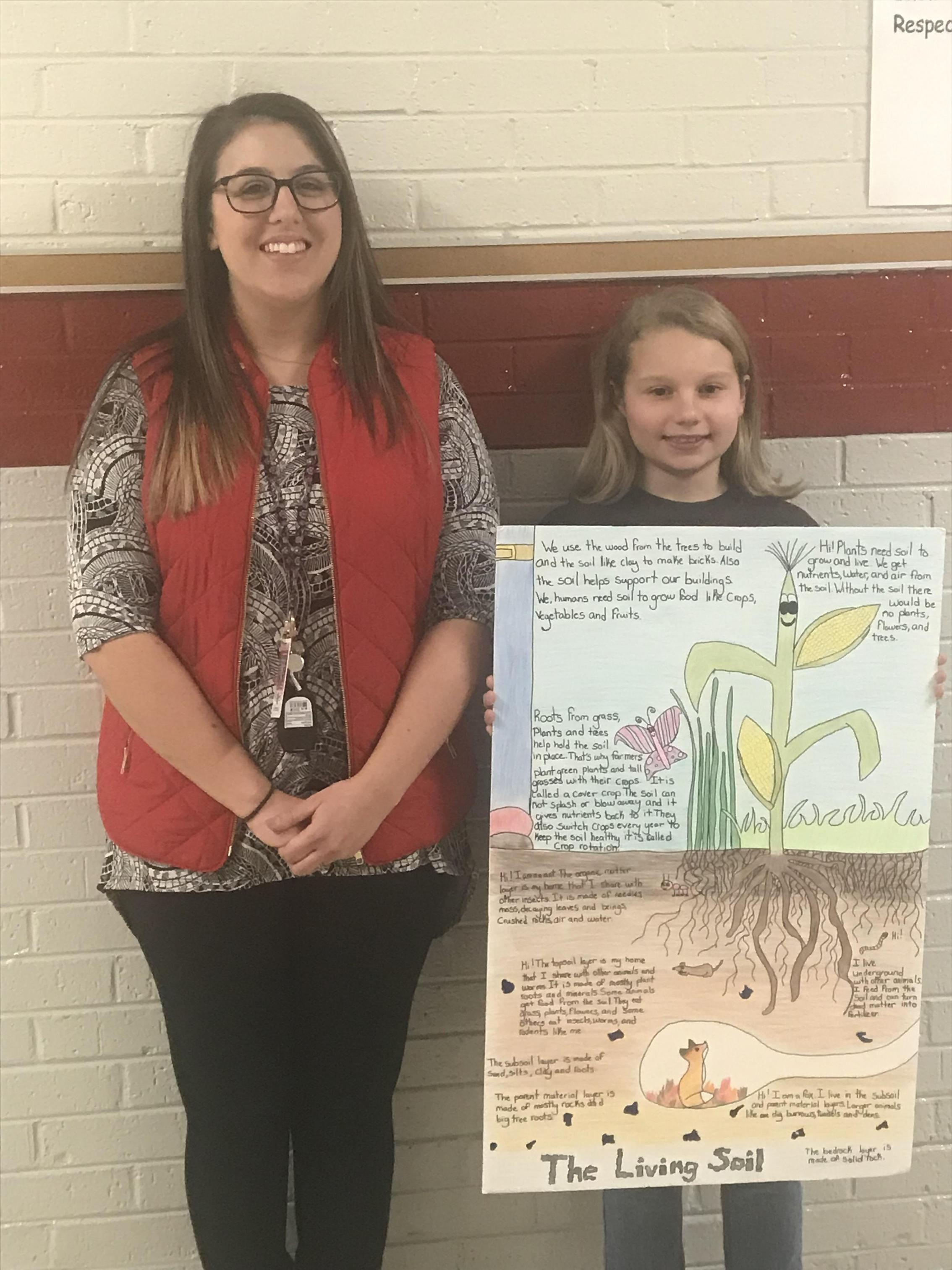 2nd place Poster contest: Leah P.