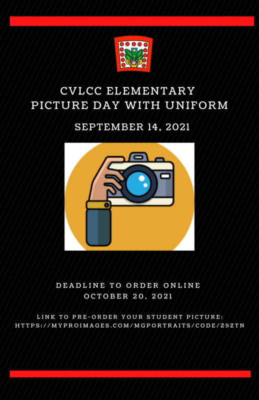 CVLCC ELEMENTARY-PICTURE DAY WITH UNIFORM Featured Photo
