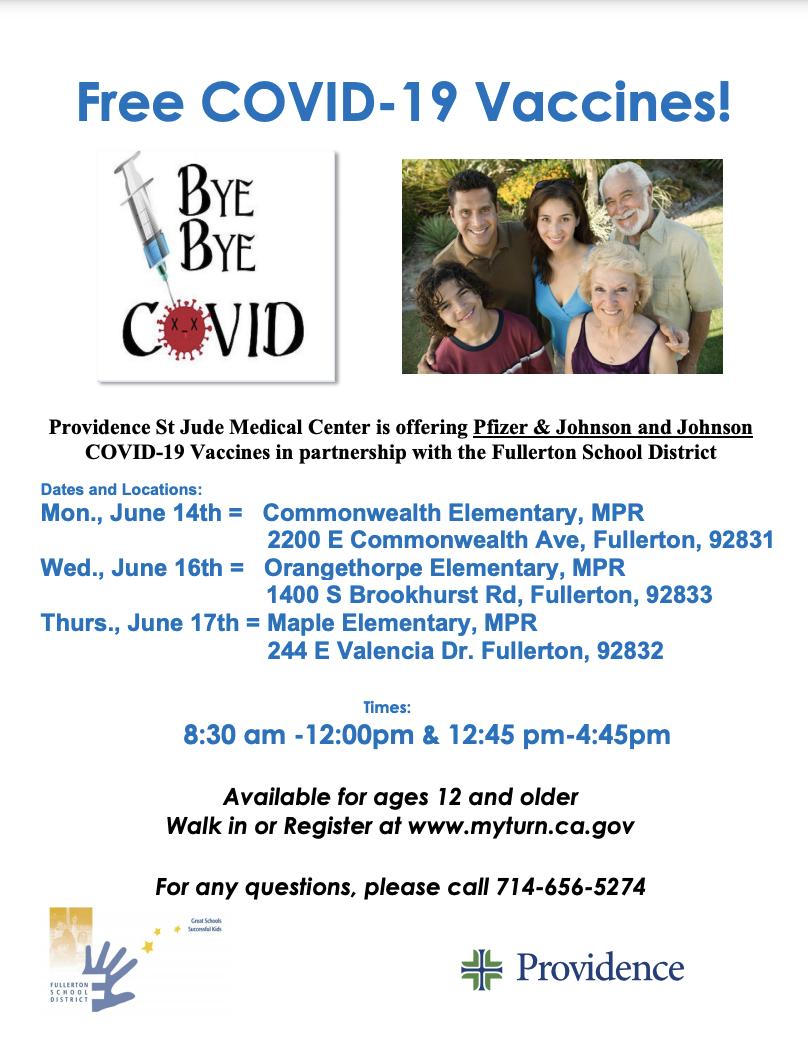 covid vaccine flyer