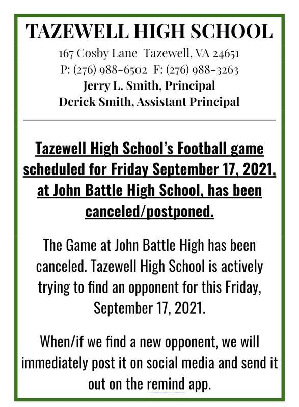John Battle football game canceled Featured Photo